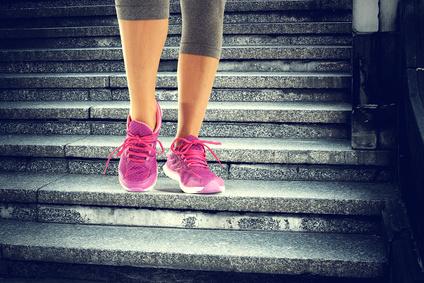 Stoffwechsel anregen - Bewegung im Alltag