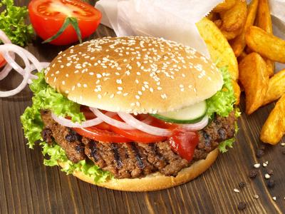Körper entgiften - Fast Food