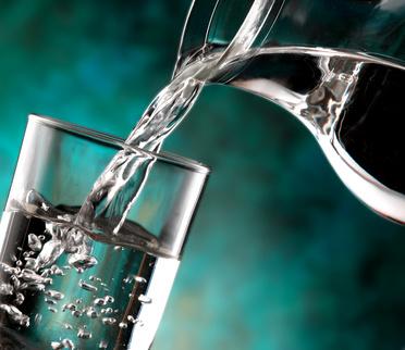 Körper entgiften - Wasser
