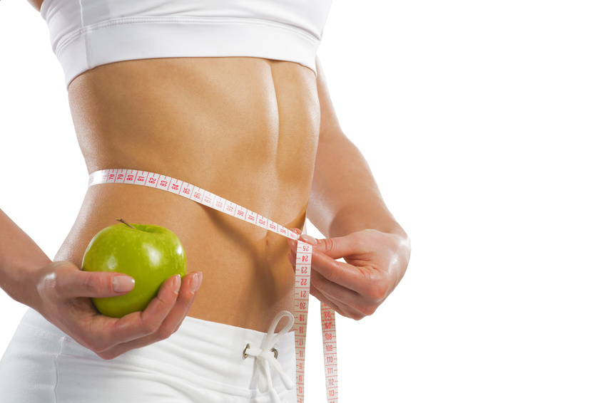 Die Punkte für die Senkung des Appetites und der Abmagerung