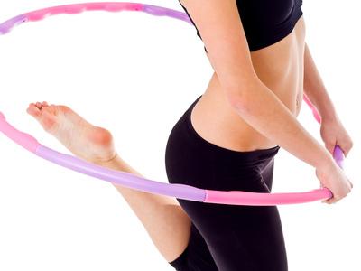 Stoffwechsel anregen - Hula Hoop Reifen