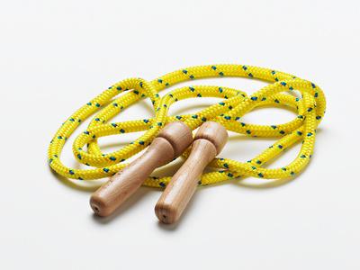 Stoffwechsel anregen - Seilspringen