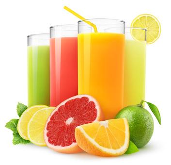 Abnehmtipps - Zucker Fruchtsaft