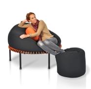 Abnehmtipps - Minitrampolin Sitzsack