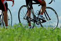 Stoffwechsel anregen - Fahrradfahren